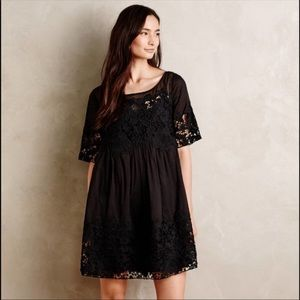 {Anthropologie} Holding Horses Magnolia Dress 10